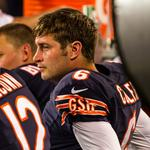 Chicago Bears' Jay <strong>Cutler</strong> was himself Sunday, and that was a problem; but TV viewers couldn't look away