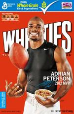 Adrian Peterson is Wheaties material