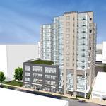 East side apartment high-rise gains city endorsement