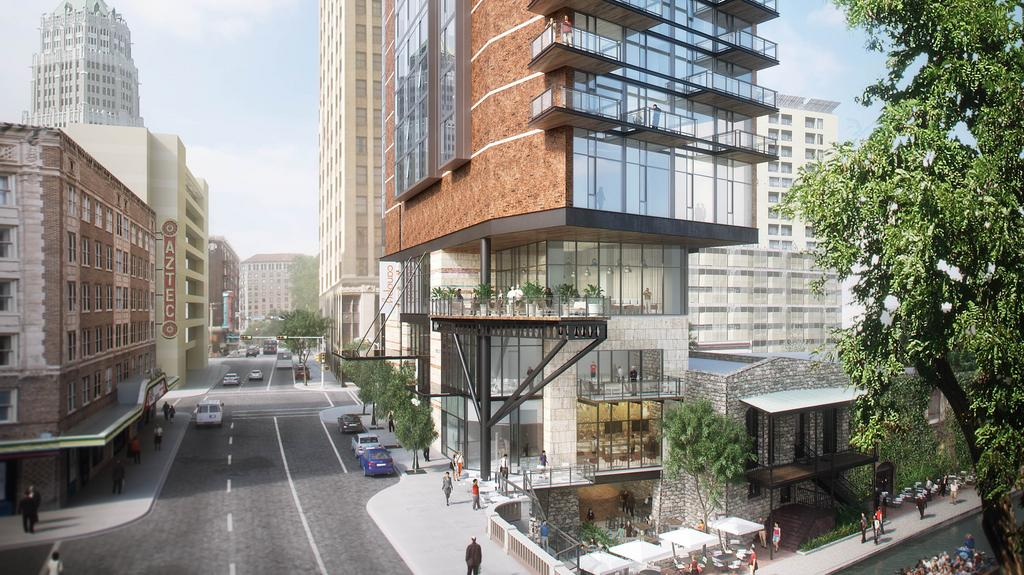 Downtown Canopy By Hilton Project Could Spur More Compelling Hotel Development San Antonio Business Journal