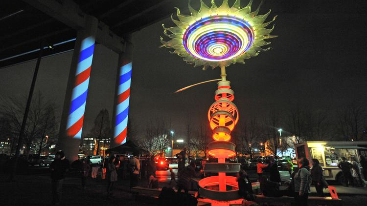 take a look at those cool displays at portland s winter lights