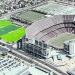 Right next to Levi's Stadium, it's football vs. futbol in Santa Clara