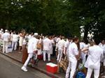 Stylish, and surprising, Dîner en Blanc flash mob descends on Lake Union (slide show)