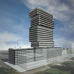 Developer buys office project site for $13M, city approves 28-story tower