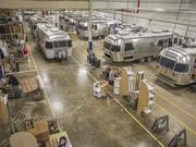 In Shelby County, Airstream has nine buildings and spans about 417,000 square feet. The main facility (shown here) is about 225,000 square feet and includes corporate offices and towable production.