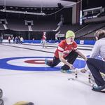 Slideshow: US Curling Team practices in Jacksonville ahead of championship