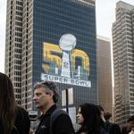 Super Bowl 50: Fans (and a Broncos player) celebrate in San Francisco (Slideshow)