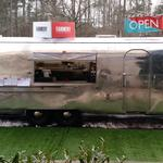 New lunch spot opens at RTP – made out of a 1968 Airstream
