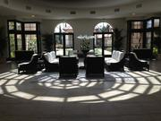This is The Conservatory, the focal point of the hotel.