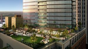 Downtown Durham's tallest tower is filling up