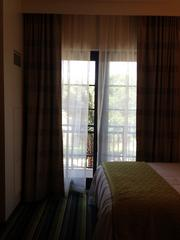 This room had a balcony.