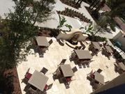 Another bird's eye view of the hotel