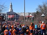 Fans gather at Civic Center to celebrate the Super Bowl champion Broncos (Slideshow)