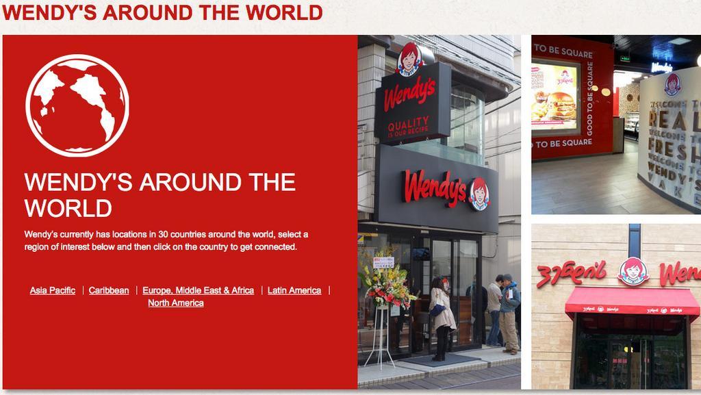 Wendys Co sees a fastcasual future overseas Columbus Columbus
