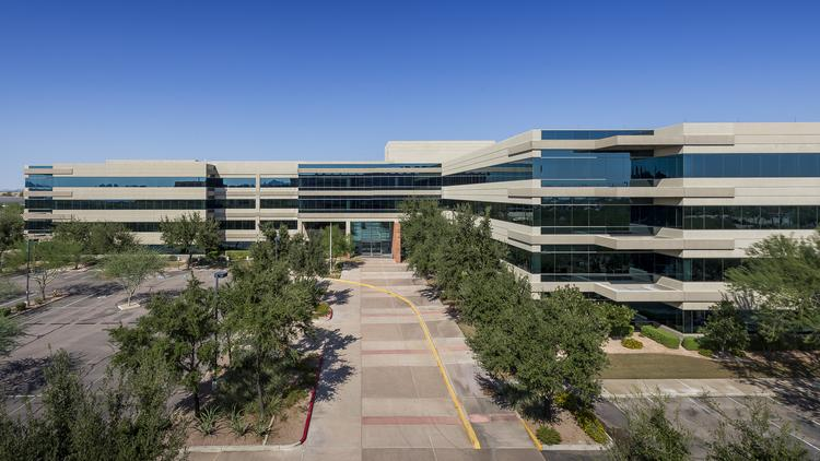 Carlisle Cos. Inc. headquarters in east Phoenix, on the edge of Scottsdale.