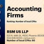 Top of the Phoenix Lists: Accounting Firms