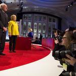 Scenes from the Democratic Presidential debate at UW-Milwaukee: Slideshow