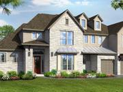 A rendering of a Trendmaker house in Crystal Falls. The company's 10 floor plans will range from 3,404 to 3,985 square feet with prices beginning in the low $500,000s.