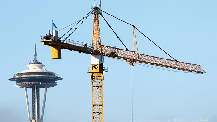 Seattle's nation-leading crane count is growing again