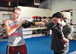 Maddox used boxing as motivation to overcome obstacles from his youth