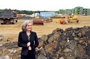 This week's featured Newsmaker is Laura Clark, executive director of the Renaissance West Community Initiative. Here, she visits the site where a charter school will rise in west Charlotte.