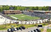 Jerry Richardson Stadium, opened in October, has a capacity of 15,300. The cost to build the stadium was $45 million, including the fieldhouse and team practice complex.