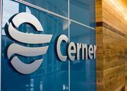 Signage inside the new campus promotes Cerner's brand.