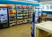 Cerner employees have the option to buy items to keep them going while working at the new campus.