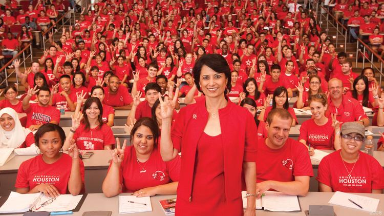 University Of Houston College Of Liberal Arts And Social Sciences  Renu Khator Is The President Of The University Of Houston And Chancellor Of  The Uh System