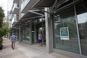 Empty retail space is expected to fill up as additional residential, the Collaborative Life Sciences Building and the planned Zidell Yards bring increased foot traffic to South Waterfront.