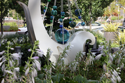 Public art and green spaces bring a tranquil feel to South Waterfront.