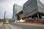 The Collaborative Life Sciences Building, a $250 million joint venture between OHSU, Oregon State University and Portland State University, will bring about 3,400 people to South Waterfront when it opens in 2014.