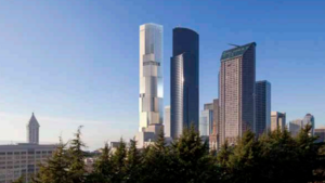 Seattle mega-skyscraper permitting work was put on hold over $315