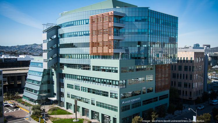 Kaiser Permanente's new nine-story Mission Bay medical office building.