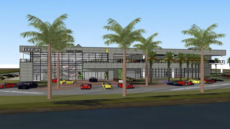 Ferrari Maserati to relocate to new dealership near Mall at Millenia  Orlando Business Journal