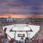 Denver's hockey rumble on the ice this weekend is pure joy for Coors Light brand