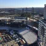 Crews working 6 days a week to complete Braves stadium