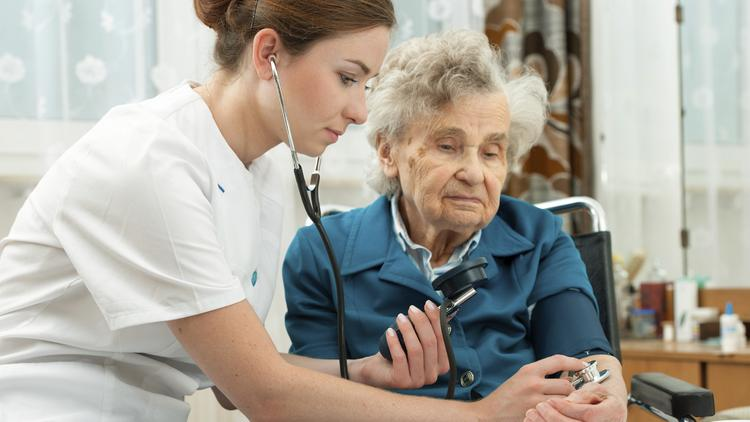 Image result for senior living nurse