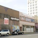 What site is next up for redevelopment downtown?