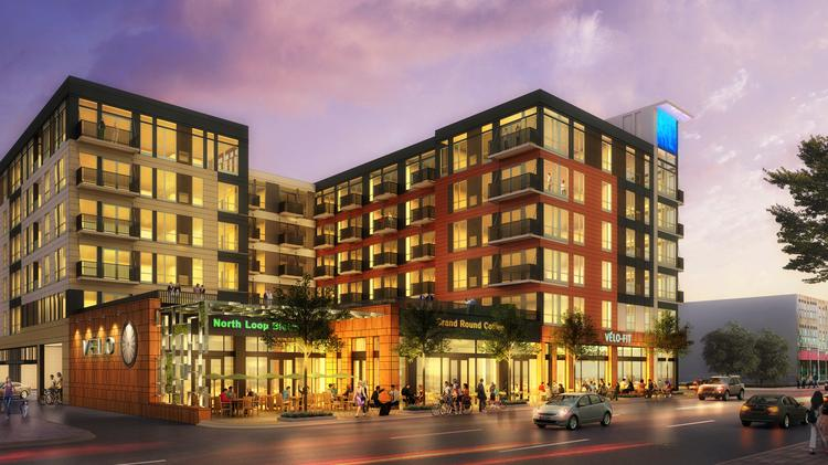 Chicago Investor Pays 68 Million For Two More North Loop Apartment Buildings