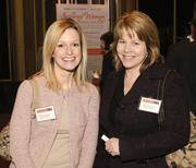 Courtney Cassat, left, and Sherri Browning of March of Dimes.