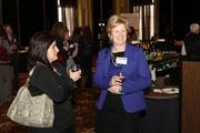 Gina Homa of First Commonwealth Bank, left, and Rita Schell of First Commonwealth Bank.