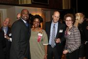From left: Cedric Thomas of WPXI-TV, Jackie Dixon of Giant Eagle, Matt Kaplowitz of WPXI-TV, and Susan Nitzberg of Standing Firm.