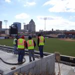 Greensboro Grasshoppers adding two-tier outfield terrace (PHOTOS)