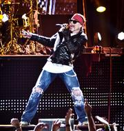Axl Rose, the front man for Guns N' Roses, will be in San Antonio on May 26 at the AT&T Center.