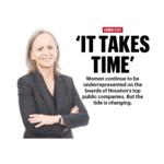 Houston public companies still lag in terms of female representation on boards
