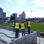 Grasshoppers adding two-tier outfield terrace