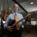 Amid financial woes, Gibson brings back former CFO