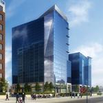 First Look: Dominion shows off new drawing for 22-story office, apartment tower downtown Raleigh