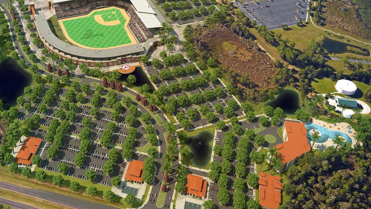 New Atlanta Braves Spring Training Campus In Florida Nears